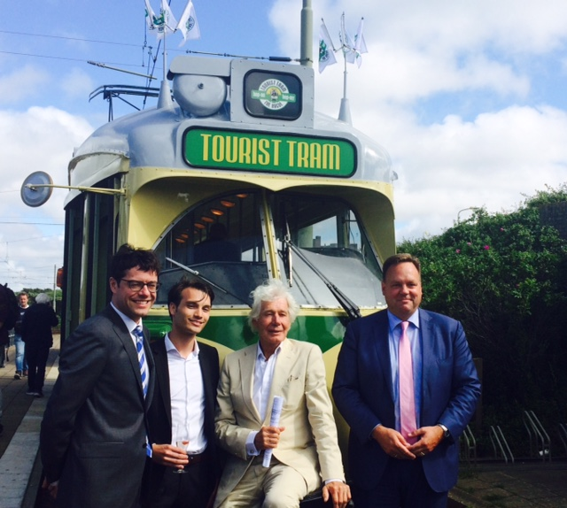 Tourist Tram - Den Haag